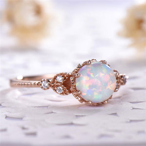 June Birthstone Moonstone Ring