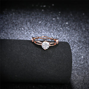 Moon Star Gold Ring