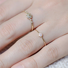 Load image into Gallery viewer, Simple Cubic Zircon Ring