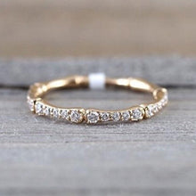 Load image into Gallery viewer, Simple Micro Paved Chic Ring