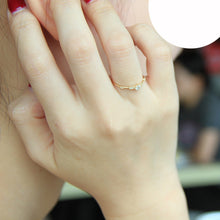 Load image into Gallery viewer, Cute Dainty Thin Women Crystal Ring
