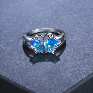 Butterfly Wings Chic Ring