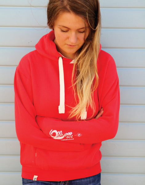 Ollypop Unisex Hoody (Dusty Red)