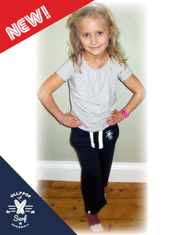 Kids Ollypop Surf Joggers (Navy)