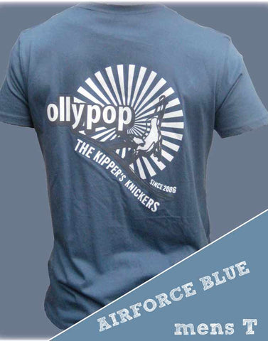 Mens T Shirt Ollypop (Airforce Blue)