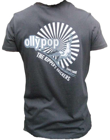 Mens T Shirt Ollypop  (Gun Metal)