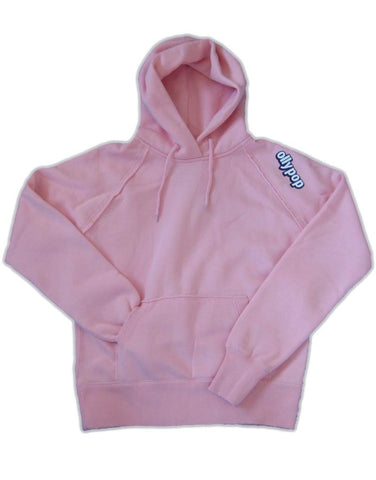 Ladies Fitted Hoody Ollypop (Pink)