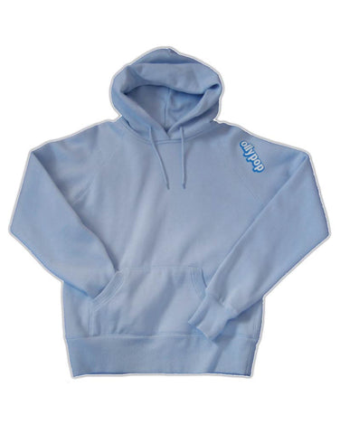 Ladies Fitted Hoody Ollypop (Sky Blue)