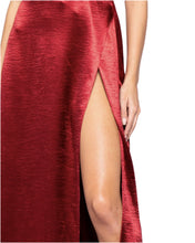 Load image into Gallery viewer, MERLOT SATIN MAXI
