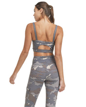 Load image into Gallery viewer, BLUE TUNDRA CAMO CARGO LEGGINGS