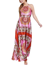 Load image into Gallery viewer, RED & PINK PRINT DRESS