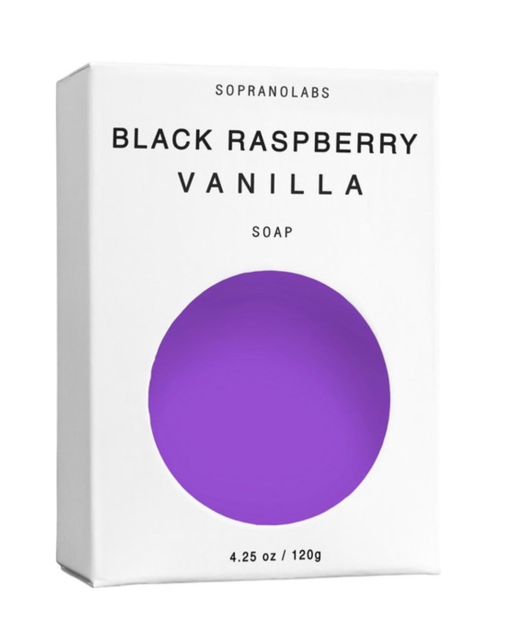 BLACK RASPBERRY VANILLA NATURAL VEGAN SOAP