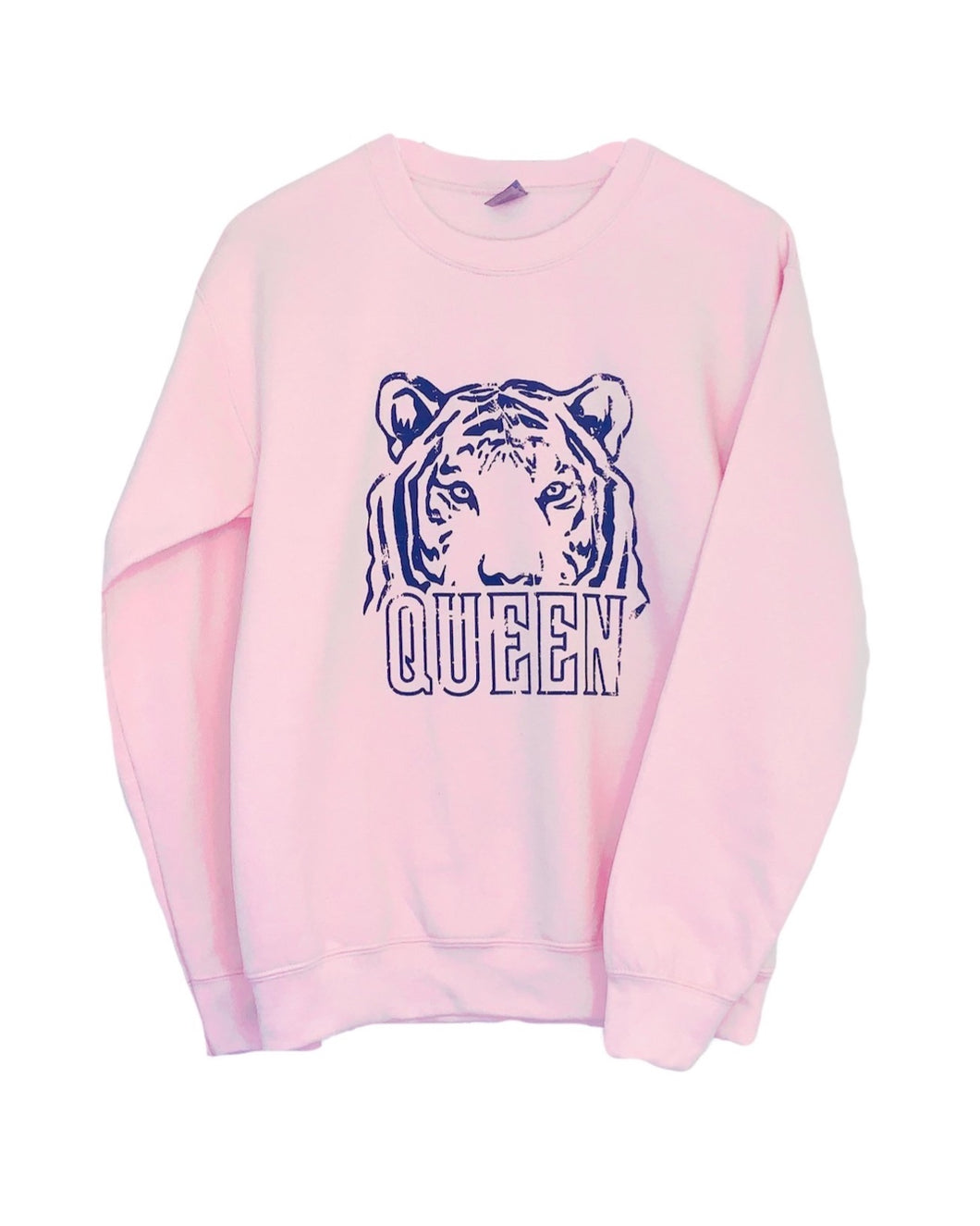 TIGER QUEEN CREWNECK PINK