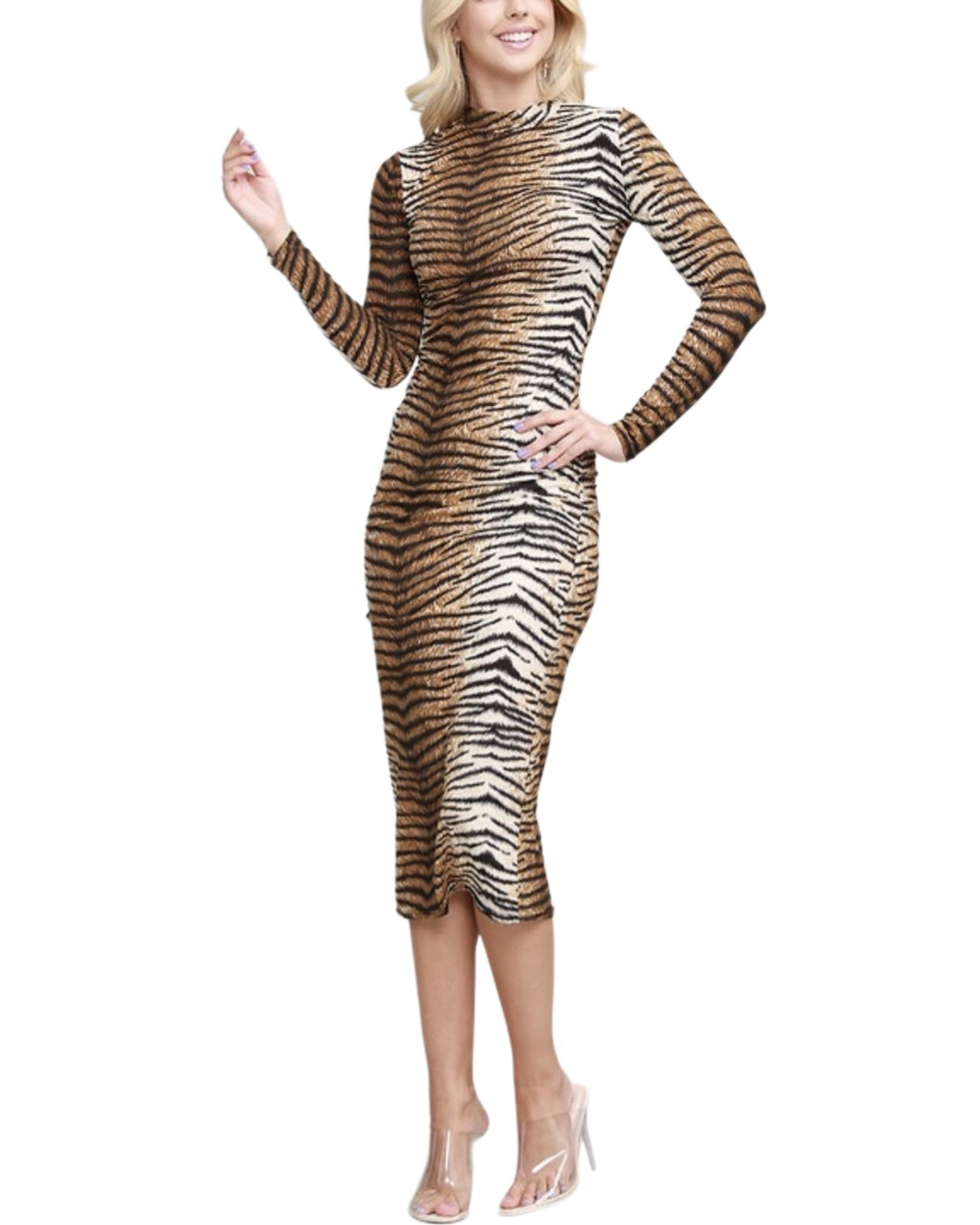 TIGER STRIPE DRESS
