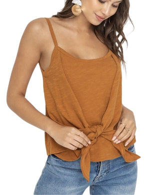 ROASTED PECAN TANK TOP