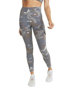 BLUE TUNDRA CAMO CARGO LEGGINGS
