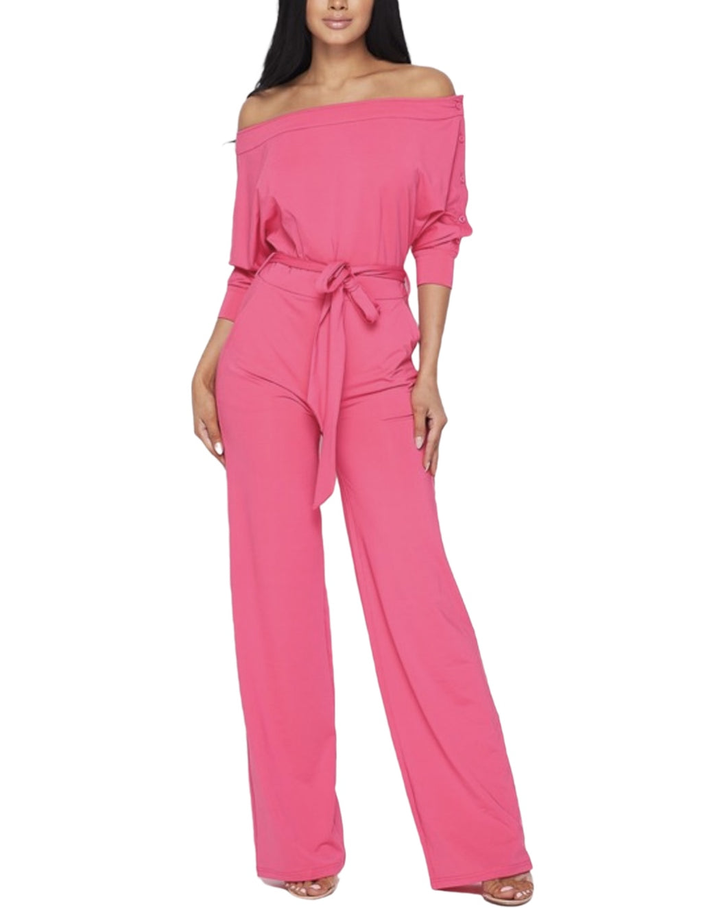 BARBIE PINK JUMPSUIT