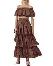 Load image into Gallery viewer, LEOPARD PRINT MAXI SKIRT