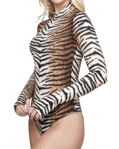 TIGER STRIPE BODYSUIT