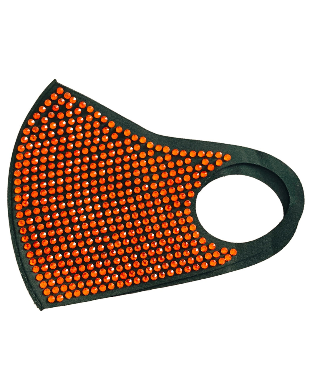 BLACK / ORANGE MASK