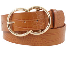 Load image into Gallery viewer, FAUX CROC BELT 3 COLORS
