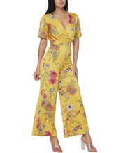 Load image into Gallery viewer, YELLOW FLORAL JUMPSUIT