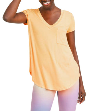 V-NECK TEE SUNSHINE