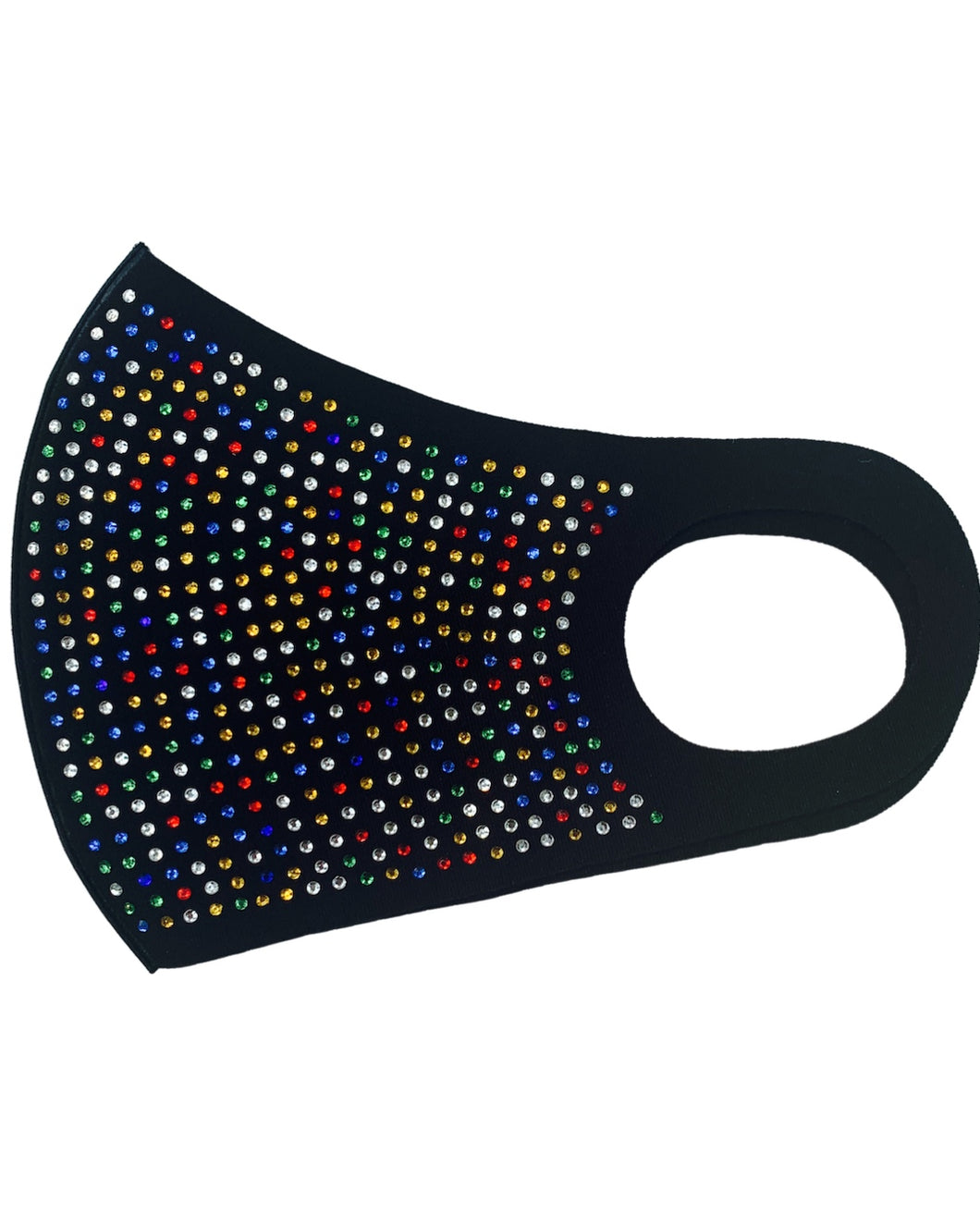BLACK / MULTI COLOR MASK