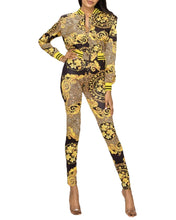 Load image into Gallery viewer, Black & Gold Leggings