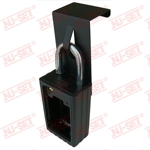 NuSet Combination Lockbox Hanger, Black