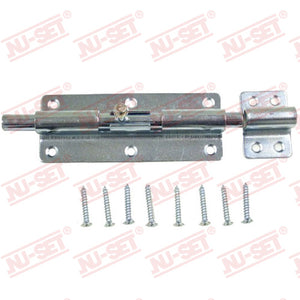 "NuSet 5-3/4"" Slide Barrel Bolt, Zinc"