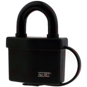 "NuSet 2-1/2"" 64mm Kwikset Keyed Padlock, Laminated Steel, Covered"