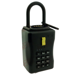NuSet Smart-Box Series: Electronic Combination Lockbox, Combo Locking Shackle