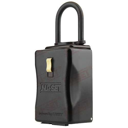 NuSet Smart-Box Series: Bluetooth® BT LE enabled Lockbox, Shackle Mount
