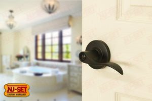 NuSet Abbey: Privacy Lever (Oil Rubbed Bronze)