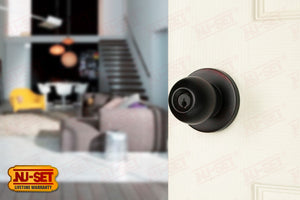 NuSet Berkeley: Schlage Keyed Commercial Grade 2 Entry Door Knob (Oil Rubbed Bronze)