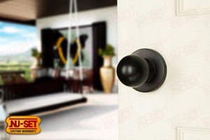 NuSet Berkeley: Passage Knob (Oil Rubbed Bronze)