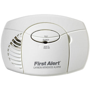 First Alert Carbon Monoxide Alarm, 9V Battery