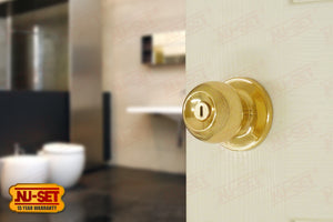 NuSet Dana: Privacy Knob (Brass)