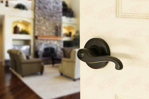 NuSet Juno: Passage Lever (Oil Rubbed Bronze)