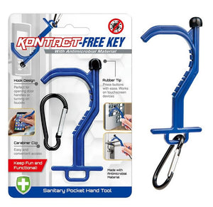 Touchless Door Opener Contact-Free Key-Chain Tool