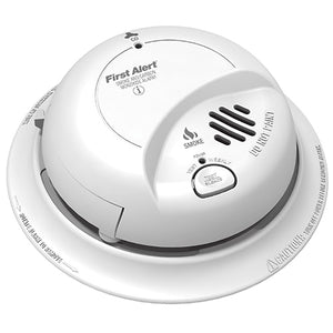 BRK Smoke and Carbon Monoxide Combo Alarm, 9V Battery