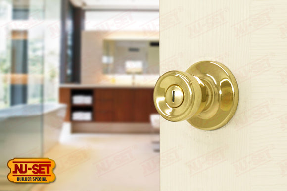 NuSet Builder Special: Privacy Knob (Brass)