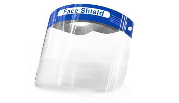 Face Shield Anti-Splash Protective Full-Face Cover - Box of 10