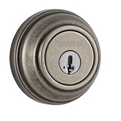 NuSet Economy: Keyed Alike Single Cylinder Deadbolt (Rustic Pewter)