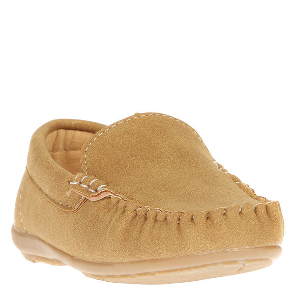 Mocasin Simple Infantil Beige