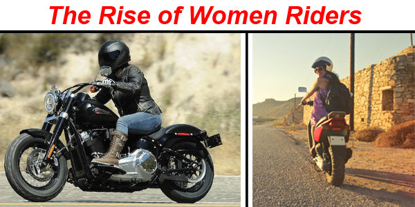 The Rise of Women Riders