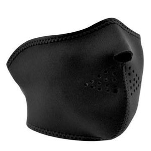 Half Mask Neoprene Black