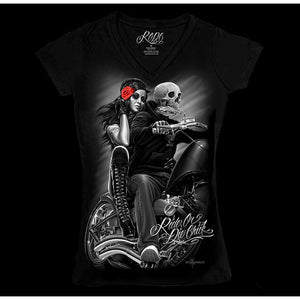 Ladies Biker Babe Shirt