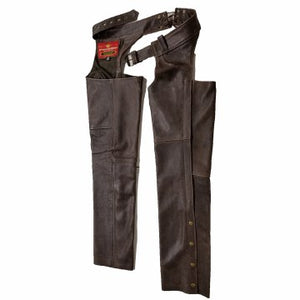Rampage Chaps Brown